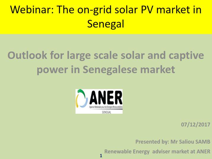 African Power Platform - Senegal